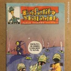 Cómics: RAFALITO MATADOR N° 2 DE PABLO VELARDE (DUDE COMICS 1999).. Lote 194248972