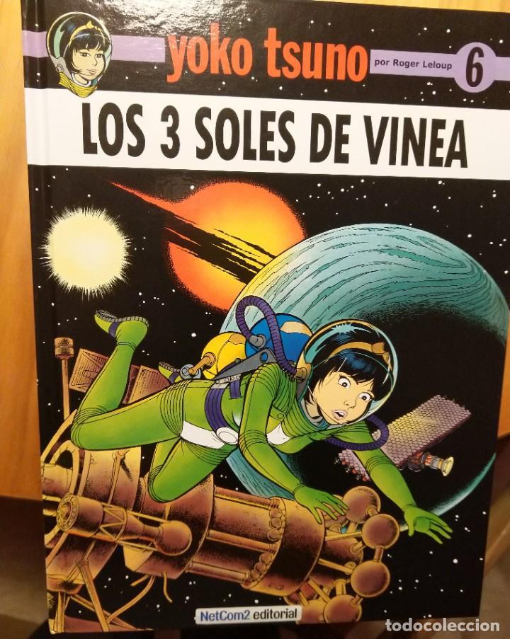 YOKO TSUNO, LOS 3 SOLES DE VINEA (Tebeos y Comics - Comics otras Editoriales Actuales)