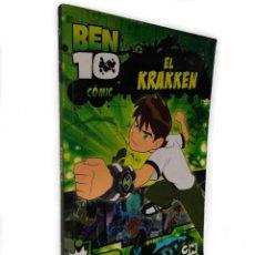Cómics: BEN 10. EL KRAKKEN | ROULEAU Y OTROS | MEDIALIVE CONTENT, 2010. Lote 194252305