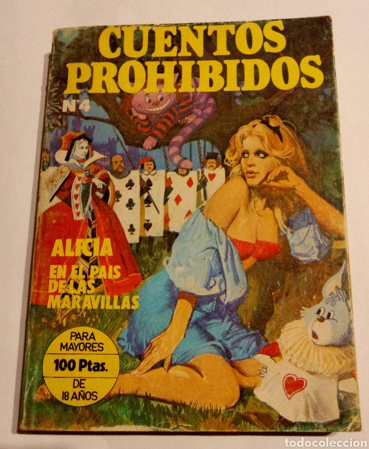 ALICIA EN EL PAIS DE LAS MARAVILLAS. CUENTOS PROHIBIDOS. 1977 (Tebeos y Comics - Comics otras Editoriales Actuales)