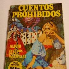 Cómics: ALICIA EN EL PAIS DE LAS MARAVILLAS. CUENTOS PROHIBIDOS. 1977. Lote 194253246