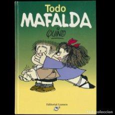 Cómics: TODO MAFALDA. QUINO. VERSION INTEGRAL AMPLIADA.. Lote 194262118