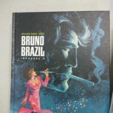Cómics: BRUNO BRAZIL INTEGRAL TOMO 3 (WILLIAM VANCE / GREG) PONENT MON, 2014. Lote 194281465