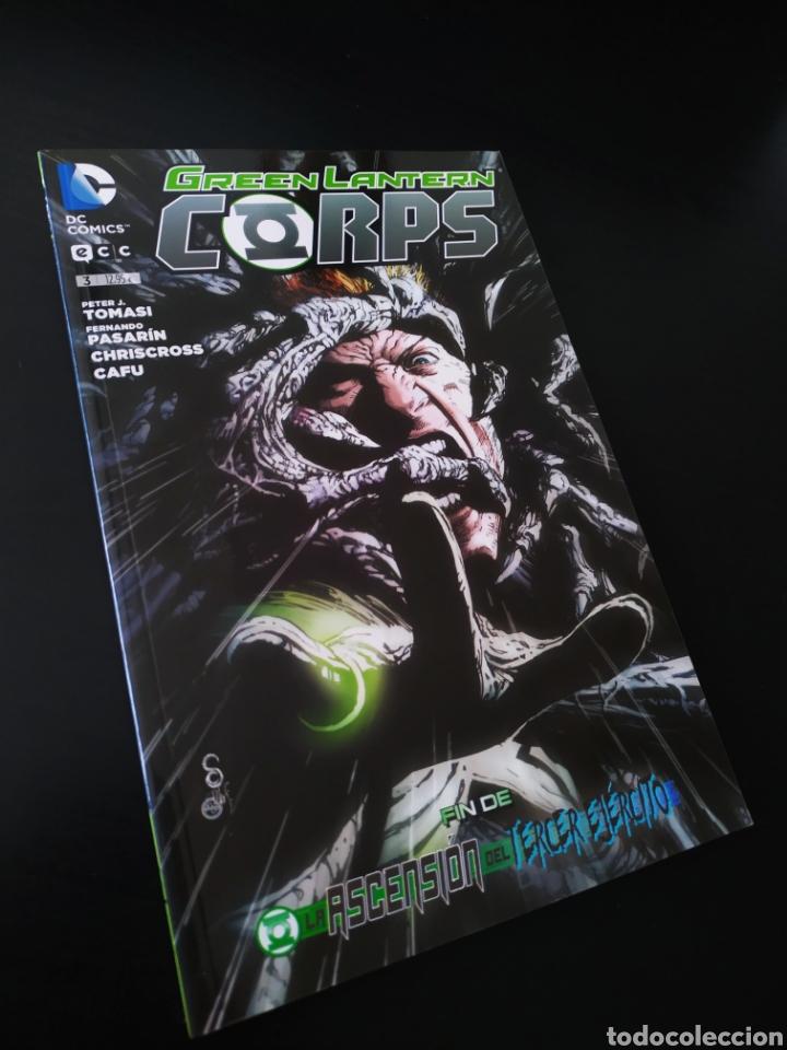 DE KIOSCO GREEN LANTERN CORPS 3 ECC DC COMICS TOMO (Tebeos y Comics - Comics otras Editoriales Actuales)