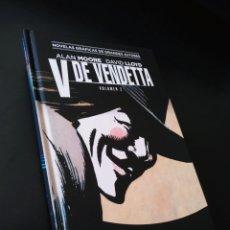 Cómics: DE KIOSCO V DE VENDETTA 2 ECC COLECCION VERTIGO ALAN MOORE / DAVID LLOYD TOMO. Lote 194284965