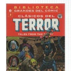 Cómics: PLANETA: CLASICOS DEL TERROR DE EC NUM 03, TALES FROM THE CRYPT. BIBLIOTECA GRANDES DEL COMIC - .... Lote 194297693