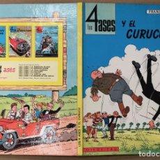 Cómics: LOS 4 ASES Y EL CURUCÚ. FRANÇOIS-GEORGES. OIKOS-TAU. 1969. 1ª EDICION. Lote 194297748