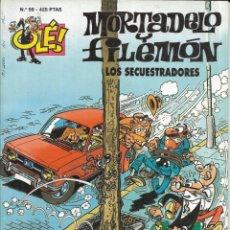 Cómics: *CO17 - CÓMIC - MORTADELO Y FILEMON - LOS SECUESTRADORES. Lote 194305037