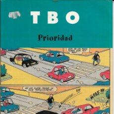 Cómics: *CO19 - CÓMIC - TBO - PRIORIDAD. Lote 194305461