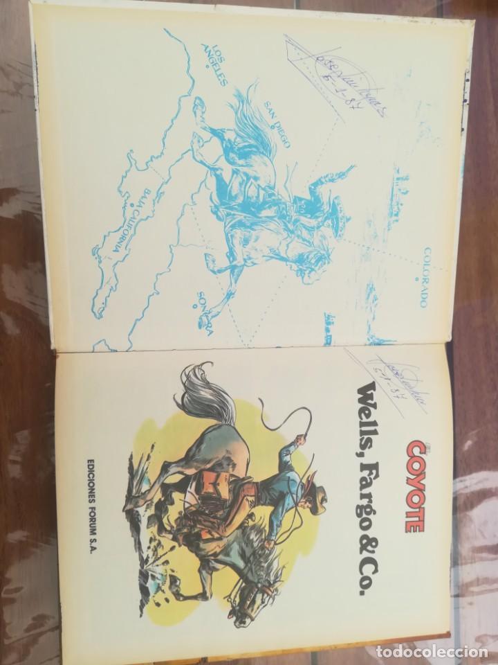 Cómics: COLECCIÓN EL COYOTE. FORUM. COMPLETA EN 8 TOMOS - Foto 29 - 170134892