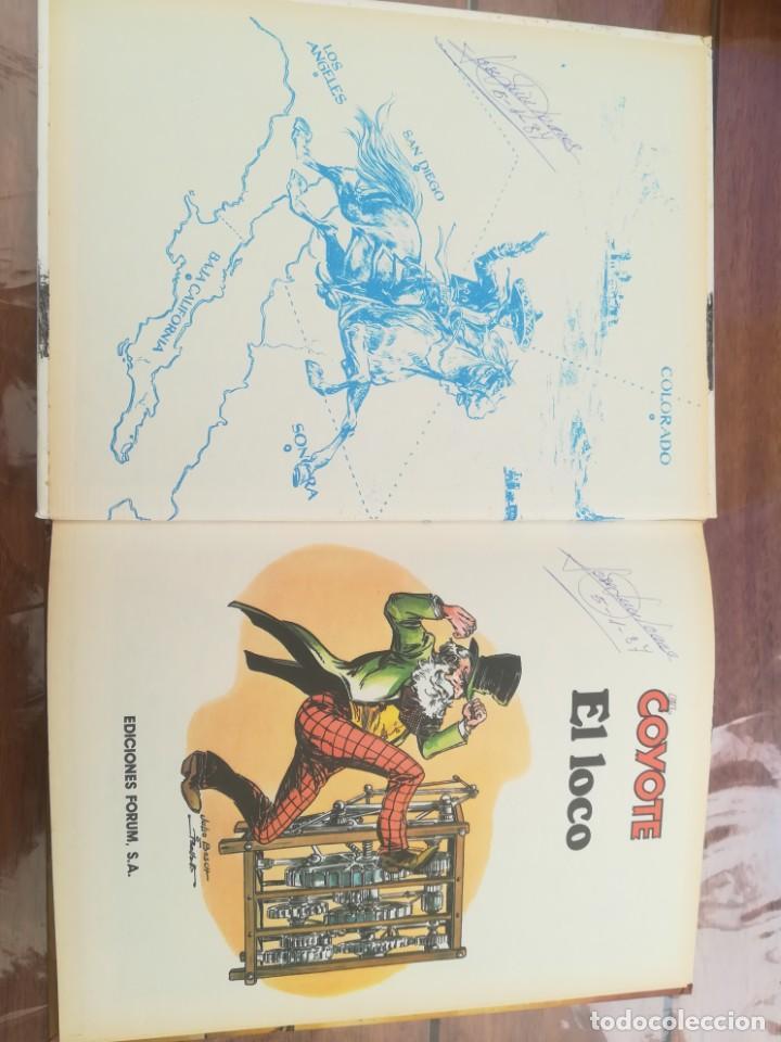 Cómics: COLECCIÓN EL COYOTE. FORUM. COMPLETA EN 8 TOMOS - Foto 37 - 170134892