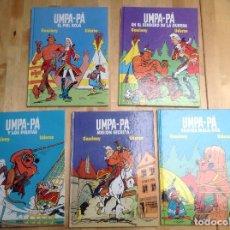 Cómics: UMPA-PA COMPLETA - 5 TOMOS. Lote 194341021