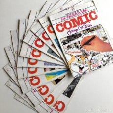 Cómics: LOS 12 TOMOS DE LA TÉCNICA DEL CÓMIC POR JOSEP Mª BEÀ, EDITORIAL INTERIMAGEN. Lote 194344686