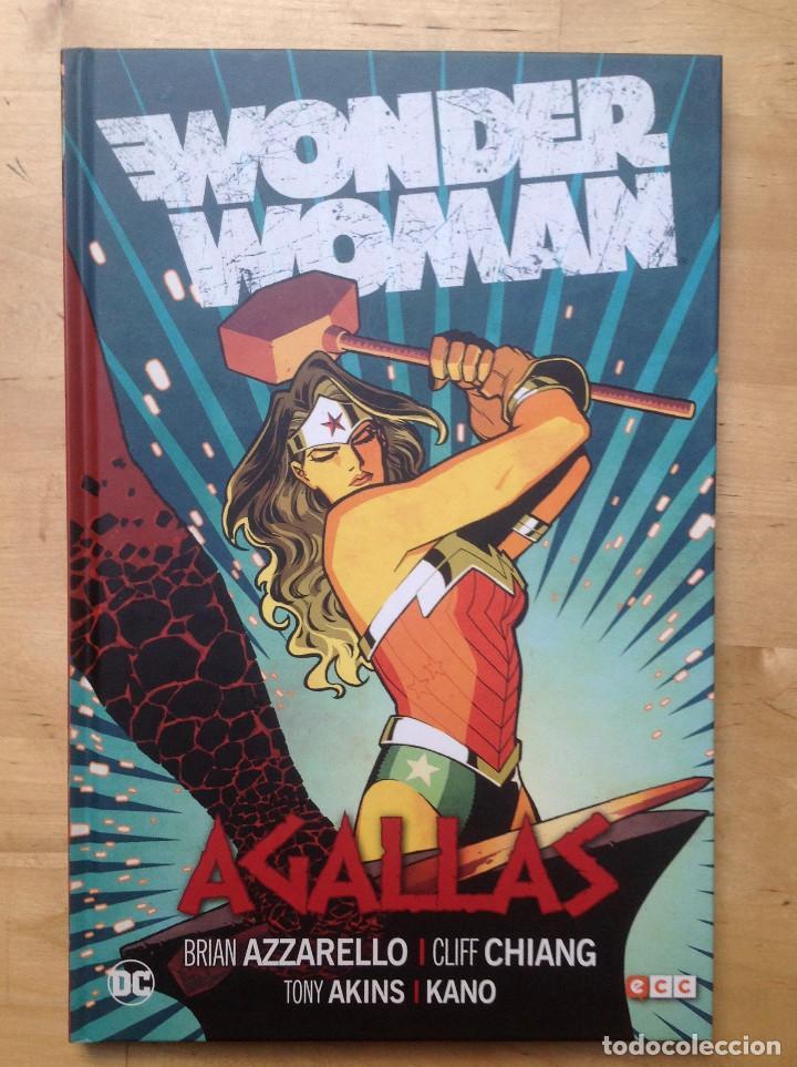 AGALLAS WONDER WOMAN (Tebeos y Comics - Comics otras Editoriales Actuales)