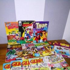 Cómics: LOTE 13 COMICS ANTIGUOS (CAPITAN AMERICA, THOR, CONAN, ZIPI Y ZAPE...). Lote 194347075