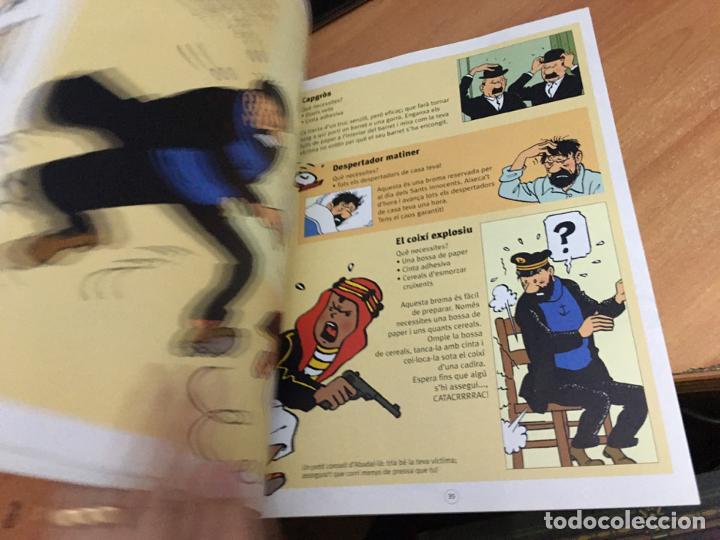 Cómics: TINTIN & MILU (GRAN ALBUM DE JOCS) PRIMERA EDICION 2011 (COIB59) - Foto 6 - 194347618
