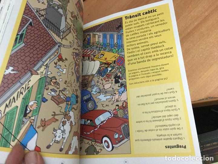 Cómics: TINTIN & MILU (GRAN ALBUM DE JOCS) PRIMERA EDICION 2011 (COIB59) - Foto 8 - 194347618