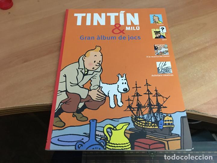 TINTIN & MILU (GRAN ALBUM DE JOCS) PRIMERA EDICION 2011 (COIB59) (Tebeos y Comics - Comics otras Editoriales Actuales)