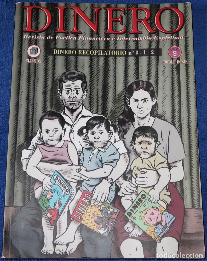 DINERO 0, 1 Y 2 - REVISTA DE POÉTICA FINANCIERA E INTERCAMBIO ESPIRITUAL - MIGUEL BRIEVA (2004) (Tebeos y Comics - Comics otras Editoriales Actuales)