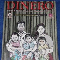Cómics: DINERO 0, 1 Y 2 - REVISTA DE POÉTICA FINANCIERA E INTERCAMBIO ESPIRITUAL - MIGUEL BRIEVA (2004). Lote 194356348