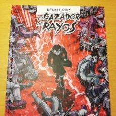 Cómics: EL CAZADOR DE RAYOS. TOMO 3 (KENNY RUIZ). Lote 194368838