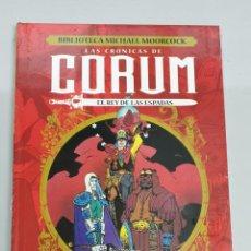 Cómics: LAS CRONICAS DE CORUM : EL REY DE LAS ESPADAS Nº 3 - BIBLIOTECA MICHAEL MOORCOCK / YERMO EDICIONES. Lote 194370981