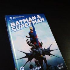 Cómics: DE KIOSCO BATMAN & SUPERMAN ENCRUCIJADO DE MUNDOS 10 SUPERHEROES GREG PAK ECC TOMO. Lote 194373508