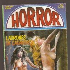 Cómics: HORROR - Nº 56 - PRIMERA EDICION - RELATOS PARA ADULTOS - COMIC EROTICO - ED ZINCO S.A -. Lote 194402915