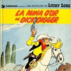 Cómics: LA MINA D'OR DE DICK DIGGER (CATALÁN) - GRIJALBO - LUCKY LUKE (ED. CATALANA). Lote 194484983