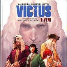Cómics: VICTUS 1. VENI - ALBERT / SANTAMARÍA MARTÍNEZ SÁNCHEZ PIÑOL - S.A. NORMA EDITORIAL - ED.CATALAN. Lote 194485006