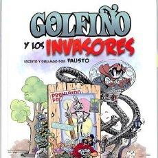 Cómics: GOLFIÑO Y LOS INVASORES - FAUSTO - EDITORES VARIOS - GOLFIÑO CASTELAN. Lote 194485653