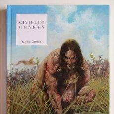 Cómics: NARIZ CORVA - CIVIELLO Y CHARYN - YERMO - TAPA DURA - MUY BIEN. Lote 194498895