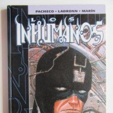 Cómics: INHUMANOS - PACHECO, LADRONN Y MARIN - MARVEL COMICS FORUM - TAPA DURA - MUY BIEN. Lote 194499511