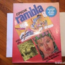 Cómics: COMIC ESPECIAL RAMBLA,Nº 1 SELECCION DE LAS MEJORES SERIIES. Lote 194500192