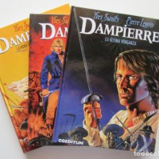 Cómics: DAMPIERRE - SWOLFS - COMPLETA 3 TOMOS - NETCOM2 - TAPA DURA - MUY BIEN. Lote 194504056