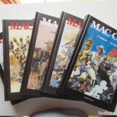 Cómics: MAC COY - PALACIOS Y GOURMELEN - COMPLETA 5 TOMOS - INTEGRAL PONENT MON - TAPA DURA - MUY BIEN. Lote 194505655