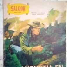 Cómics: SALOON- ANGUSTIA EN LA NOCHE- 1979-ANDREU MONTULL-MUY ESCASO-CORRECTO-LEAN-3104. Lote 194509075
