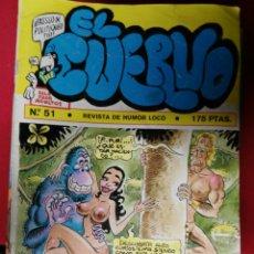 Cómics: REVISTA EL CUERVO. Lote 194518061