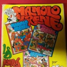 Cómics: MANOLO IRENE 2 EPOCA NUMEROS 7.8 Y 9. Lote 194520563