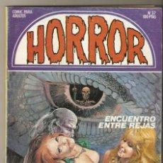 Cómics: HORROR - Nº 37 - PRIMERA EDICION - RELATOS PARA ADULTOS - COMIC EROTICO - ED ZINCO S.A -. Lote 194523955