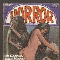 Cómics: HORROR - Nº 36 - PRIMERA EDICION - RELATOS PARA ADULTOS - COMIC EROTICO - ED ZINCO S.A -. Lote 194524407