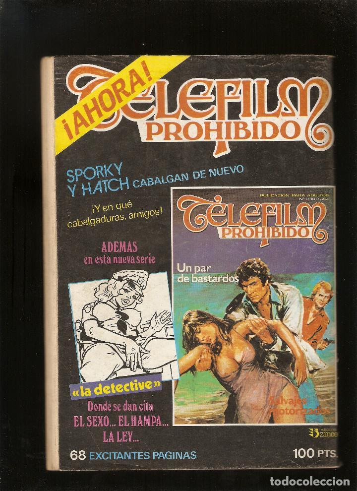 Cómics: HORROR - Nº 36 - PRIMERA EDICION - RELATOS PARA ADULTOS - COMIC EROTICO - ED ZINCO S.A - - Foto 2 - 194524407