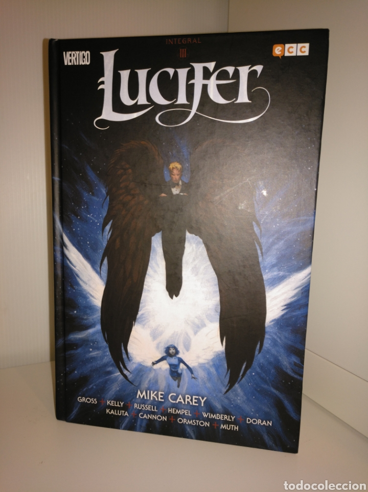 LUCIFER INTEGRAL III - MIKE CAREY - VÉRTIGO (Tebeos y Comics - Comics otras Editoriales Actuales)