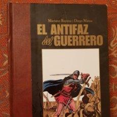 Cómics: EL ANTIFAZ DEL GUERREO,MARIANO BAYONA-DIEGO MATOS 1ª EDIC. 2012,COMO NUEVO.. Lote 194537301