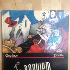 Cómics: REQUIEM ANA JUAN GORDILLO. Lote 194538140