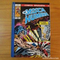 Cómics: COMICS BRUGUERA 22 LA MOSCA HUMANA 5 LA TORRE INFERNAL. MARVEL 1977. Lote 194555368