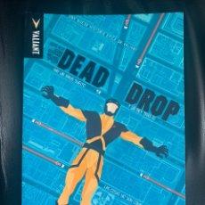 Cómics: DEAD DROP - MEDUSA VALIANT - REBAJADO. Lote 194558950