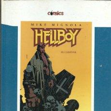 Cómics: HELLBOY EL CADAVER MIKE MIGNOLIA EL PAIS COMICS. Lote 194565283