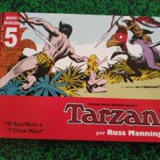 Cómics: TARZAN RUSS MANNING, (PLANCHAS DOMINICALES 5 Y 6). Lote 194576762