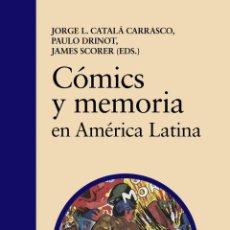 Cómics: CÓMICS Y MEMORIA EN AMÉRICA LATINA. Lote 194586752